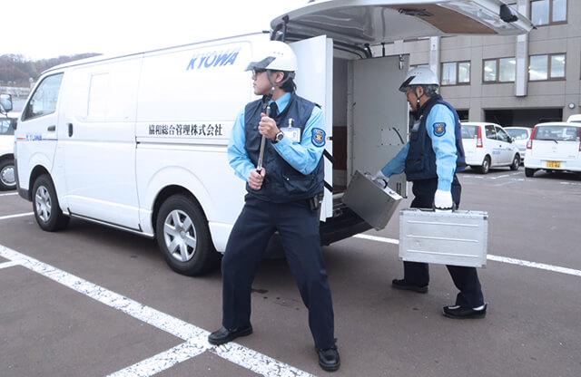 貴重品運搬警備